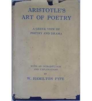 Aristotle's Art of Poetry