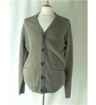 Marks & Spencer Collection - Size: M - Beige - Cardigan