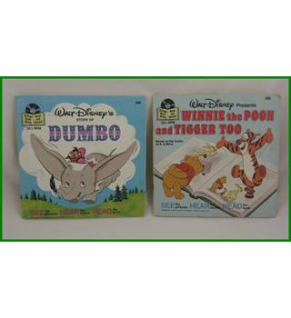 Walt Disney - 'Dumbo' and 'Winnie the Pooh and Tigger Too' - 324 and 366