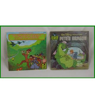 Walt Disney - The Story of The Wizard of Oz (347) and Pete's Dragon (369)