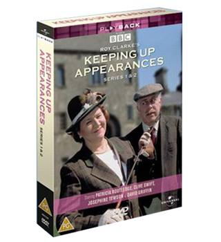 KEEPING UP APPEARANCES SERIES 1 AND 2 PG