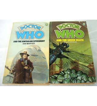 Doctor Who Novels (Set of 2)
