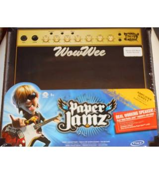 Paper Jamz Amplifer Series 1 Real Working Speaker