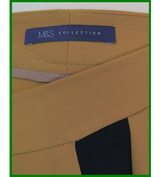 "BNWT - M&S Marks & Spencer - Size: 42"" - Tan - Trousers"