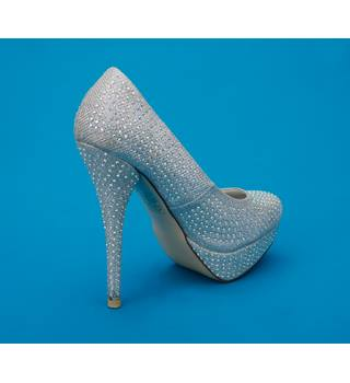 TRUFFLE COLLECTION - Size: 4 - Silver - Heeled shoes