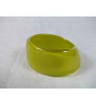 Lime coloured bangle