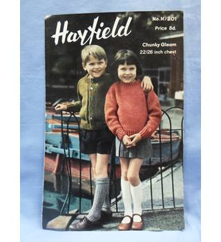 Hayfield H/201 Cardigan and Jersey for boy or girl