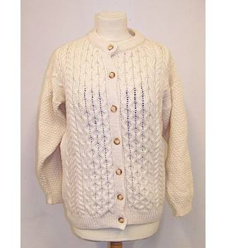 Highland Home Industries - Size: S - Cream / ivory - Cardigan