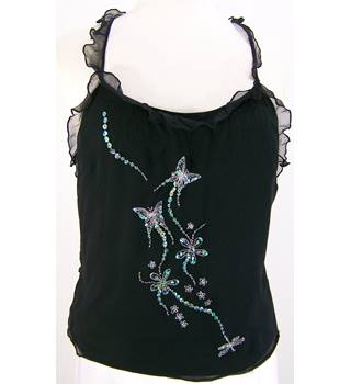 Jane Norman - Size: 14 - Black - Embellished Camisole