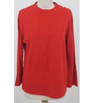 Per Una - Size: 14 - Red Stylish Top