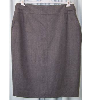 Hobbs - Size: 14 - Grey - Calf length skirt