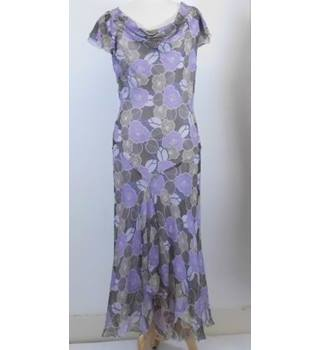 Phase Eight-Size 14-Purple Mix-Full length Dress.