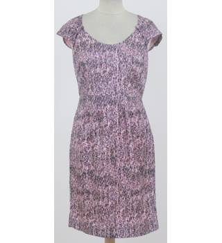 Banana Republic - Size: XS - Purple Patterned Dress