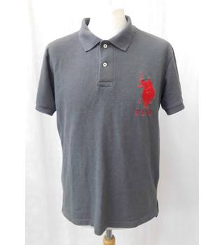US Polo Association by Ralph Lauren - Size: S - Grey - Polo shirt