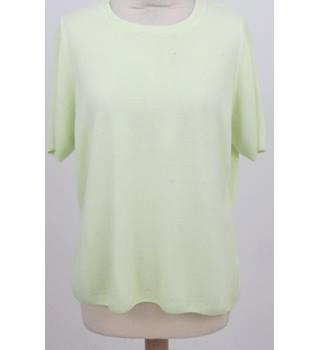 NWOT Classic M&S Collection Size:18 Snazzy Pale Lime Green Jumper
