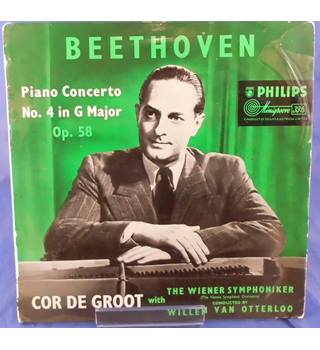 Beethoven: Piano Concerto No.4 in G Major Op.58 - Cor de Groot  ABR 4038