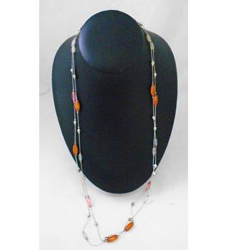 Two Strand Bead Necklace
