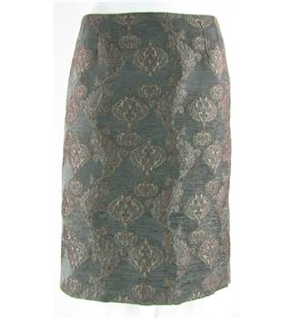 Jigsaw - Size: 10 - Brown - Pencil skirt