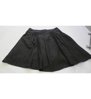 Marks & Spencer Autograph size 16 black pleated skirt