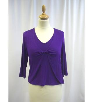 Country Casuals - Size: S - Purple - Mid-sleeved  top