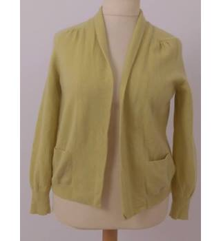 M&S Marks & Spencer  Size: 16 Lime Green Cardigan