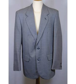 "Mr Harry - Suit jacket - 44"" Chest - Black and White dog tooth check"