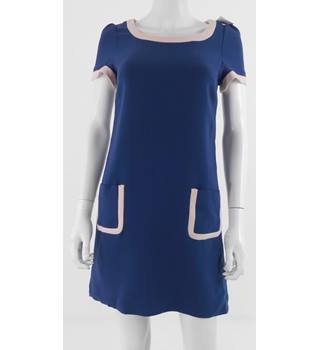 Whistles Blue Dress Size: 6