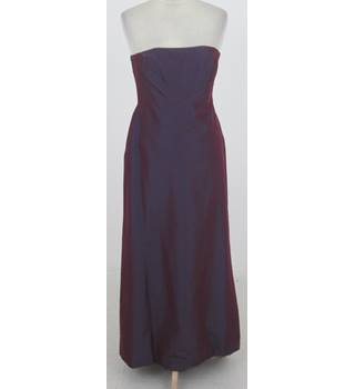 Monsoon - Size: 12 - Purple - Strapless dress