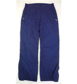 "Berghaus Size: 12 Deep Purple Cold/Snow/Boarding ""Goretex "" Thermal Lined Pants/Trousers"