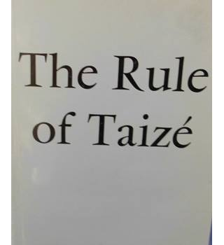 The Rule of Taize (dual English/French text)