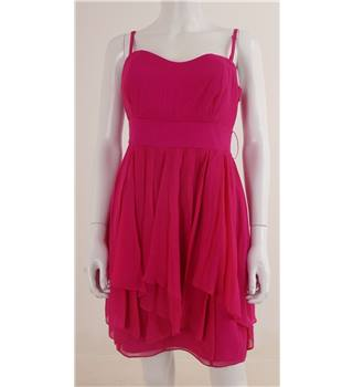 Coast Size: 12 Bright Pink Party Dress