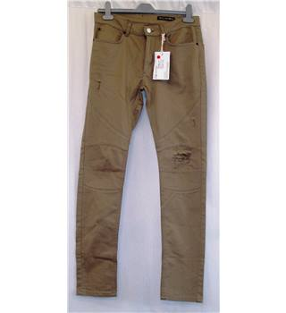 "BNWT Religion size 32"" Waist Khaki Denim Hollow Jeans"