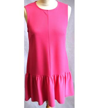 Miss Selfridge pink dropped waist dress 10/EU38 BNWT Miss Selfridge - Size: 10 - Pink - Sleeveless