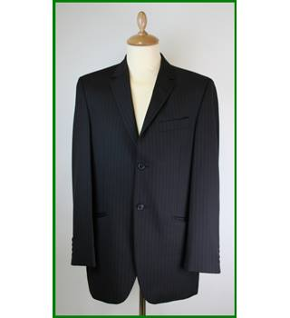 Daniel Hechter - Couture - Size: 38 - Black pin stripe