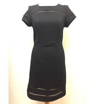 Definitions Size: 12 - Black - Knee length dress