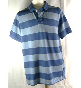 Fat face-polo shirt-blue-size xl fat face - Size: XL - Blue