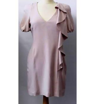 BNWT French Connection size 12 dusty soft pink dress