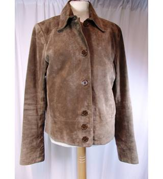 H&M suede size 12 jacket