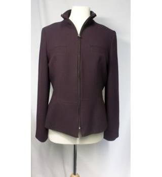 M&S Marks & Spencer - Size: 12 - Purple - Jacket