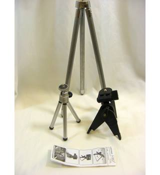 Three Camera Tripods
