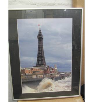 Large Framed image of Blackpool tower 51cm by 41cm including frame