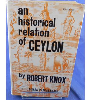 An Historical Relation of Ceylon