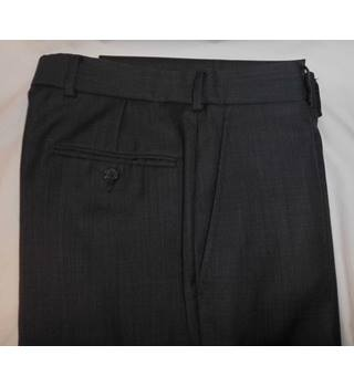 "Berwin & Berwin - Size: 32"" - Grey - Smart Trousers"