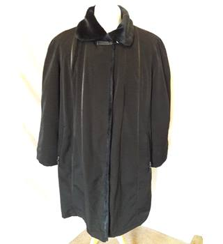 Jacques Vert - Size: XL - Black - Raincoat
