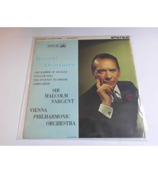 Rossini Overtures - Vienna Philharmonic Orchestra/sir Michael Sargent 1961