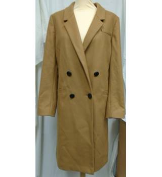 Autograph M&S - Size: 14 - Camel - Smart jacket / coat