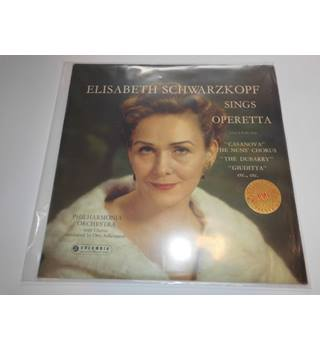 Elisabeth Schwarzkopf Sings Operetta/Philharmonia  Orchestra with chorus conducted by Otto Ackerman.
