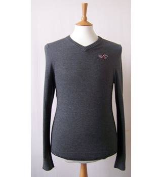Hollister - Size: M - Grey - Sweater
