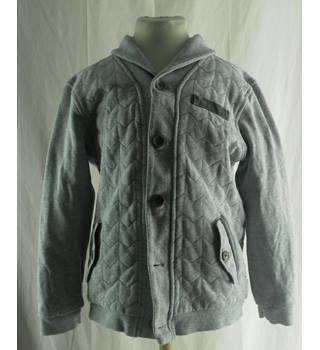 Ted Baker - Size: 7 - 8 Years - Grey - Cardigan
