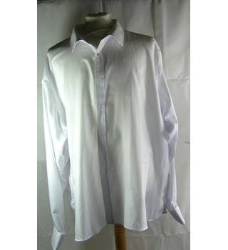 Moss Esq-shirt-white-size 21 inch collar Moss Esq - Size: XXXL - White - Long sleeved | GA